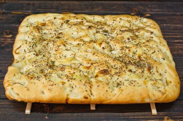 Фокачча с рыбной начинкой - рецепт пошаговый с фото