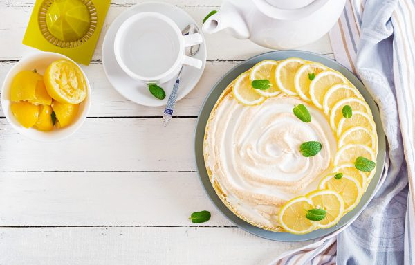 pirog limonnyi krem limon dolki