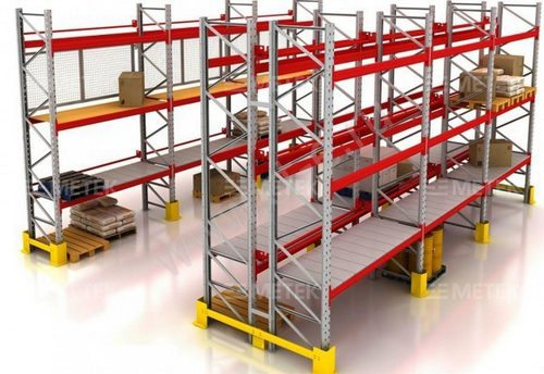 Особенности применения фронтальных стеллажей для склада