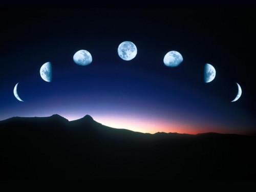 Основное влияние фаз Луны на человека