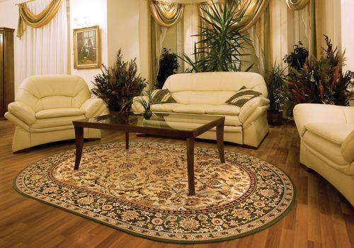 Оригинальные ковры для оформления гостиной