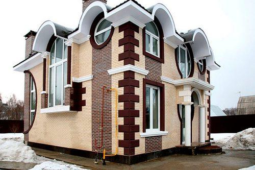 Особенности качественной лепнины для фасада
