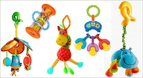 Какие игрушки для новорожденных выбирать?