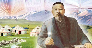 абай кунанбаев портрет