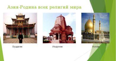 Религия Азии